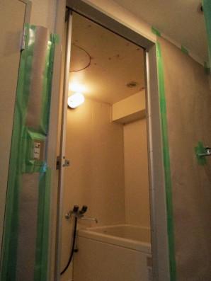 室内木枠等塗装工事